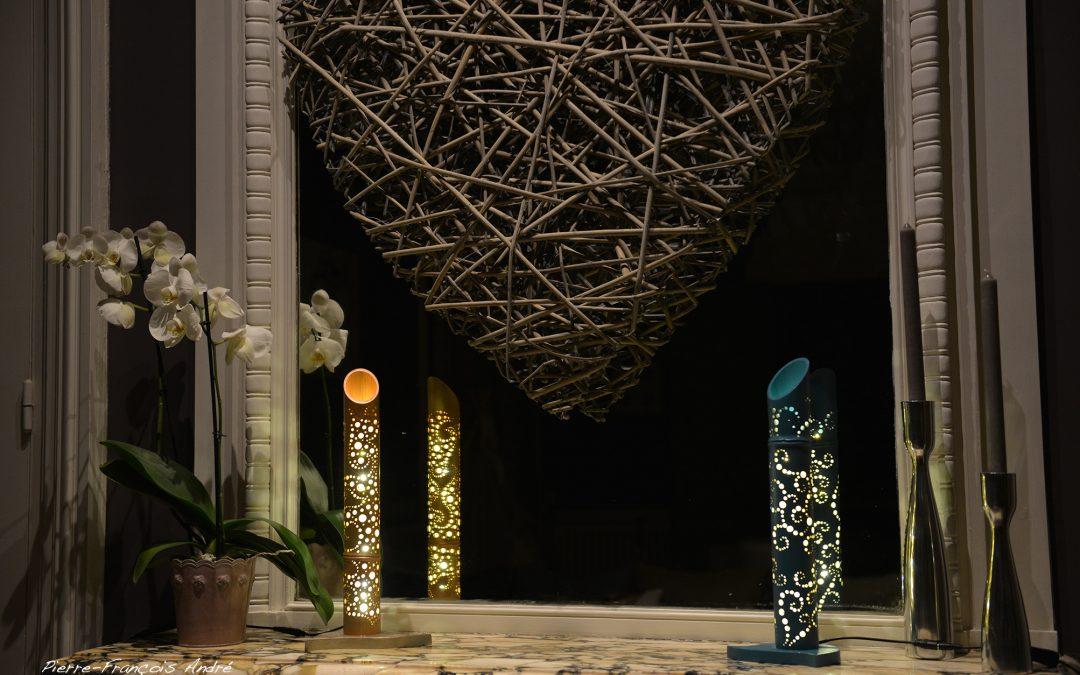 Lampe Bambou sur mesure