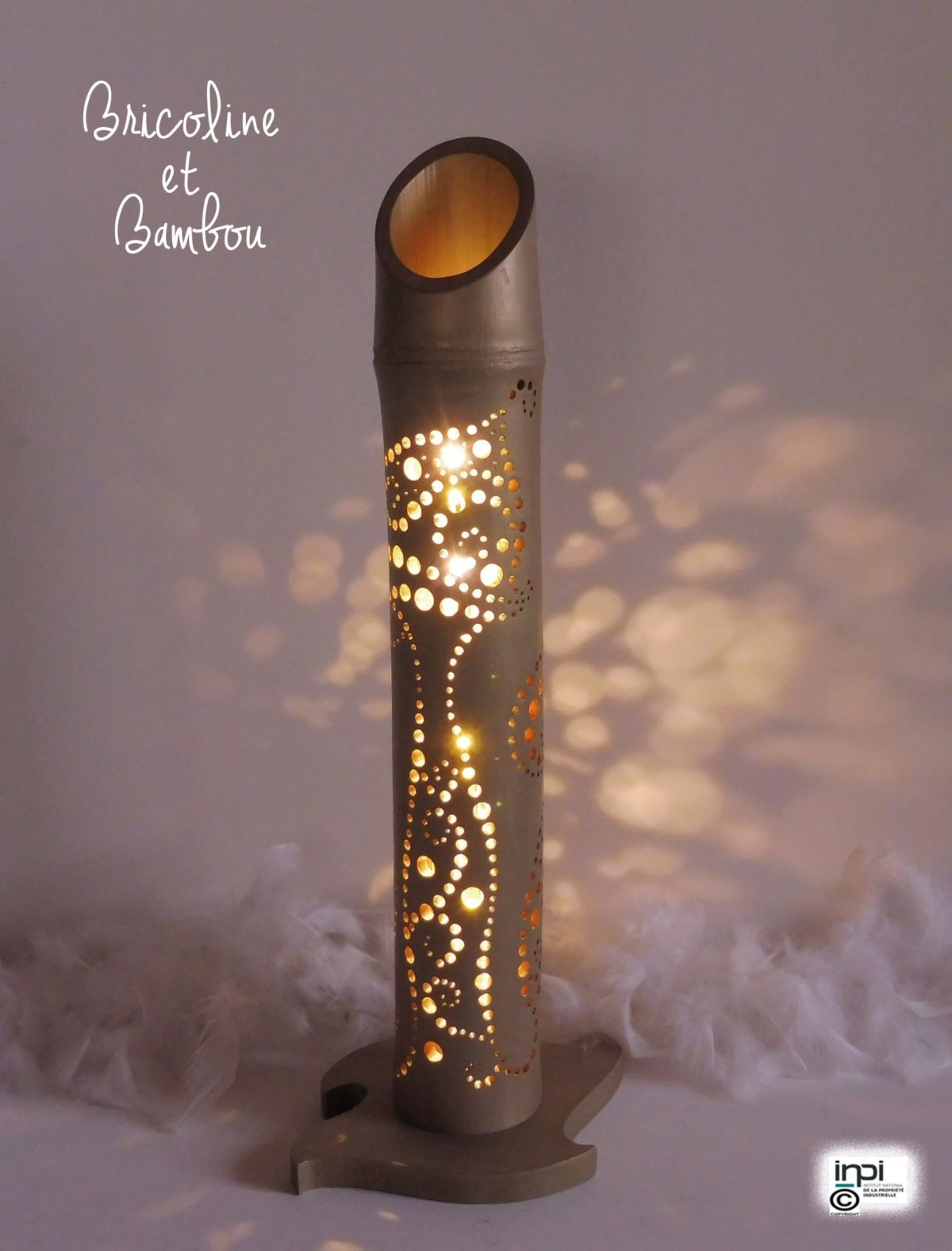 Lampe Bambou Champy