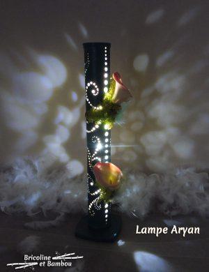 Lampe Bambou Aryan