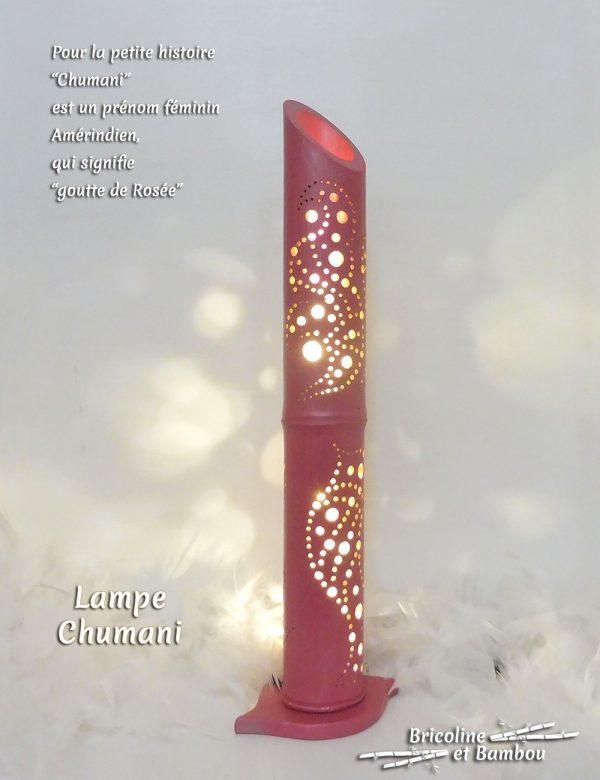 Lampe Bambou Chumani