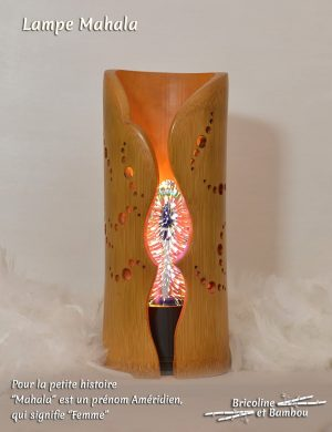 Lampe Bambou Mahala