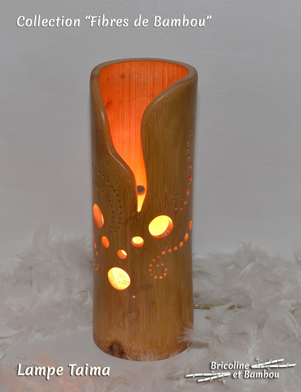 Lampe Bambou Taima
