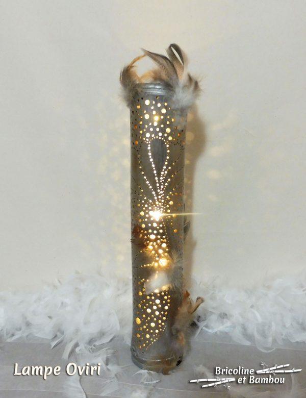 Lampe Bambou Oviri