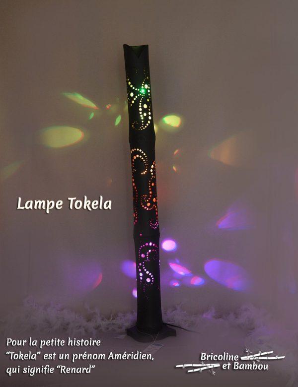 Lampe Bambou Tokela