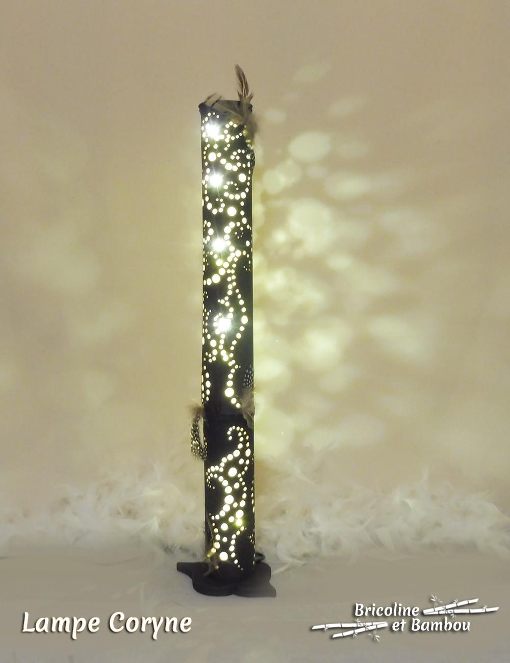 Lampe Bambou Coryne
