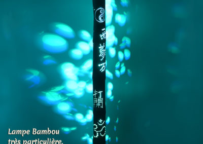 Lampe Bambou «Sylvain»