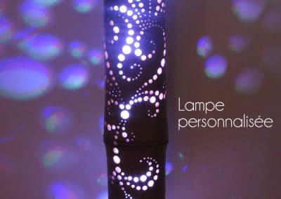 Lampe personnalisée 2018