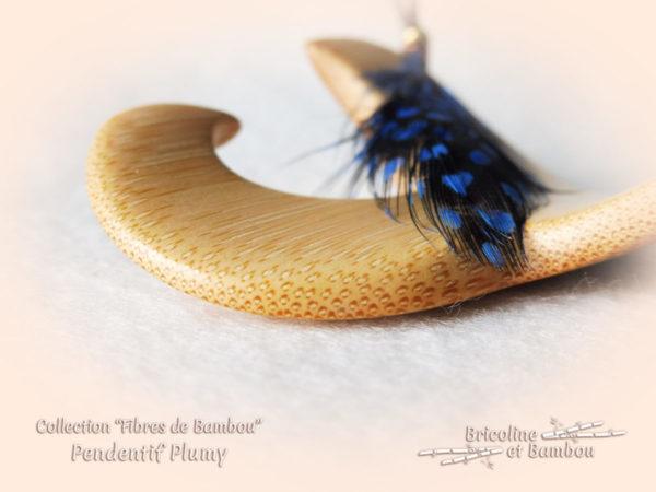 Pendentif Bambou Plumy 6