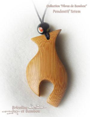 Pendentif Bambou Totem 6