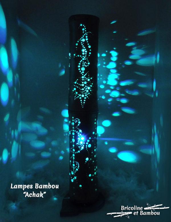 Lampe Bambou Achak
