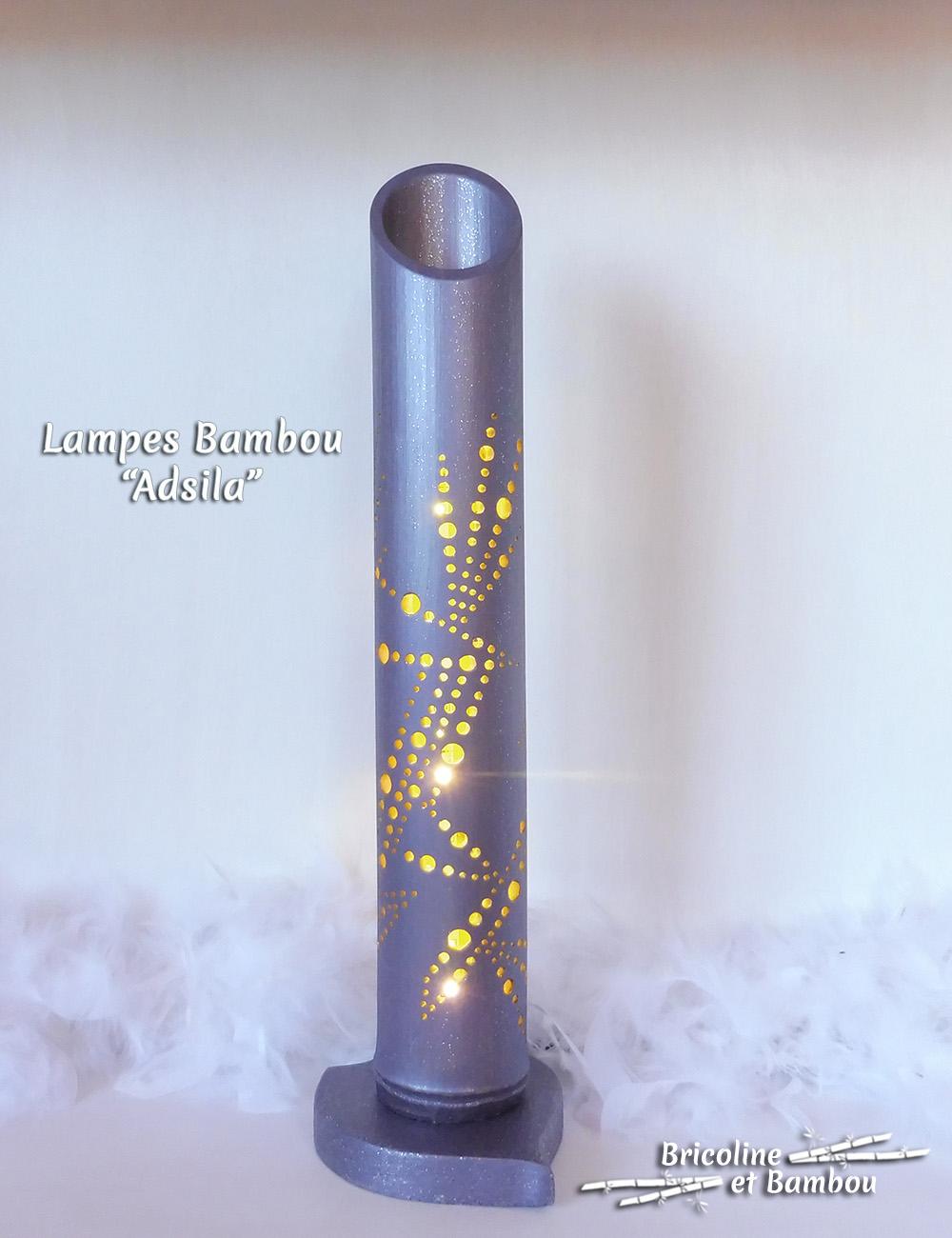 Lampe Bambou Adsila