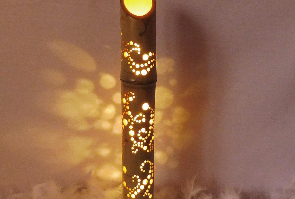 Lampe Bambou «Lorona»