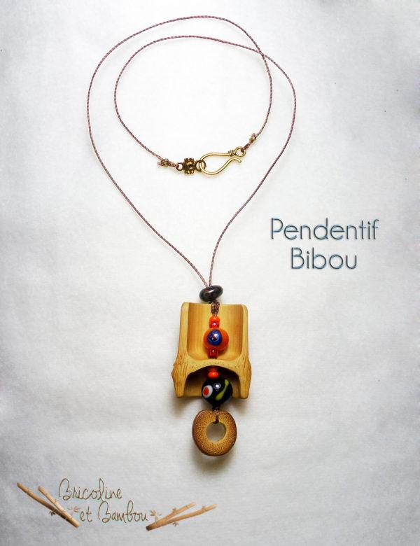 Pendentif Bibou