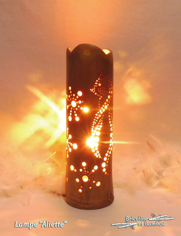 Lampe Bambou Aliette