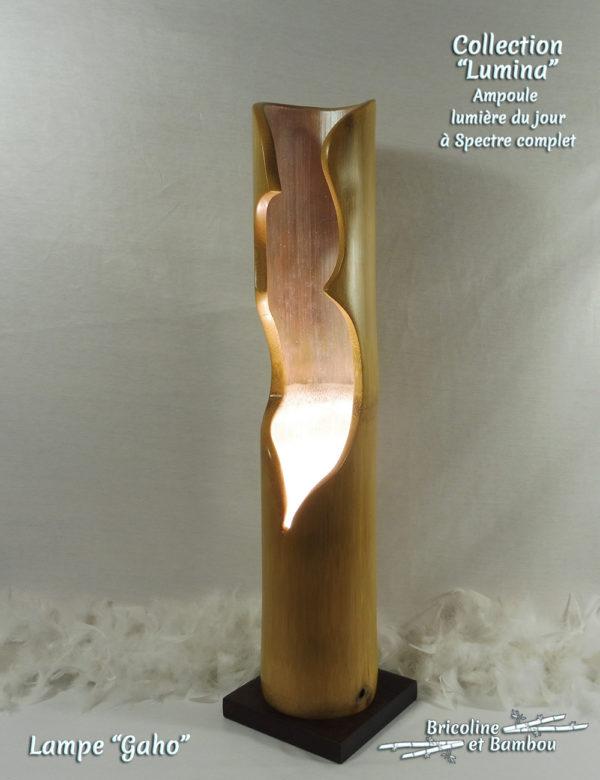 Lampe Bambou Alphée