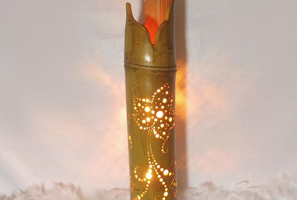 Lampe Bambou «Louvia»