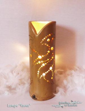 Lampe Bambou Ysens
