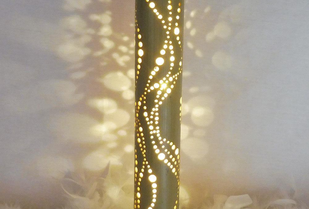 Lampe bambou Miwok