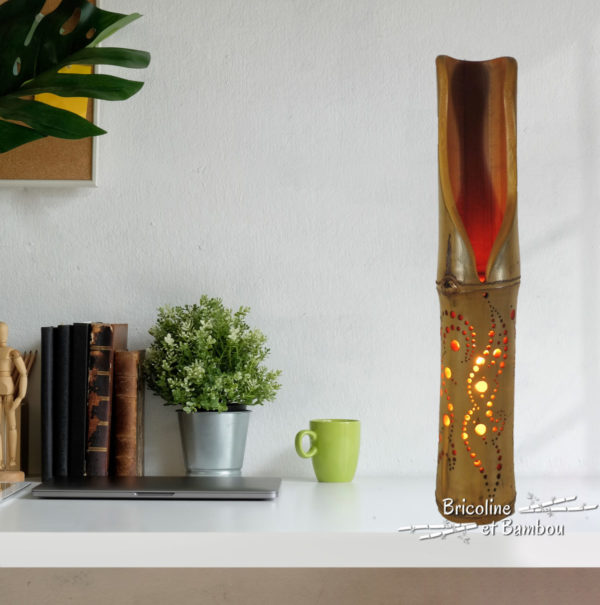 Lampe Bambou Suliac