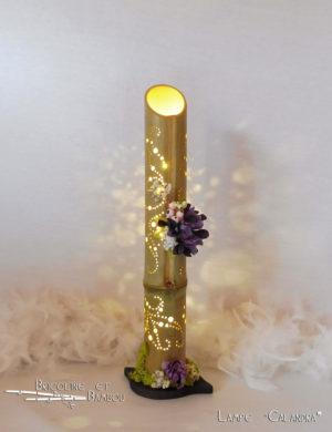 Lampe Bambou Calandra